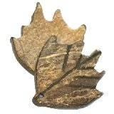 perline cocco piccole foglie piccoli scuri 2.5 cm