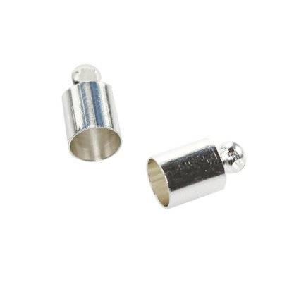 metal end cup 3,5 mm jewellery findings