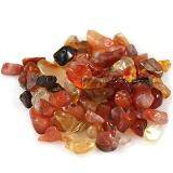 carnelian chips / semi-precious stone