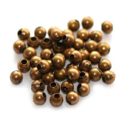beads 2 mm antique