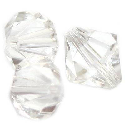 kryształki diamentowe przezroczyste 12 mm  / koraliki szklane