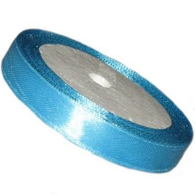 satin ribbon azure 6.5 mm