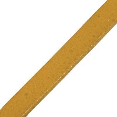 lanière plate miel 5 mm