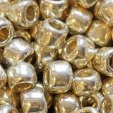 Toho beads round permafinish - galvanized aluminum 4 mm TR-06-PF558