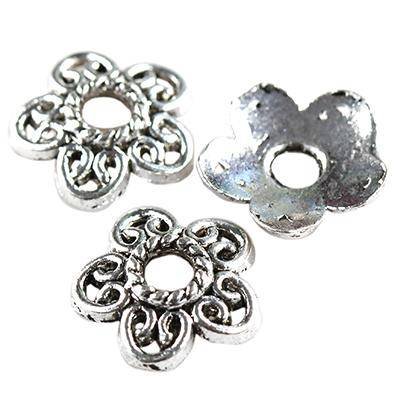 Metallene Kappen Flocken 9 mm