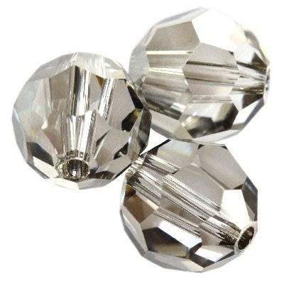 Swarovski round beads crystal satin 8 mm