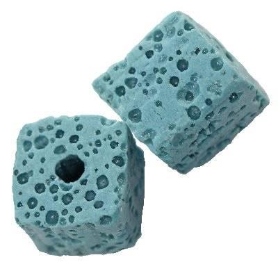 cubes volcan bleu 12 mm