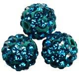 abalorios fimo bolas caramballa cristales capri 8 mm