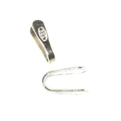 argent 925 fermoirs petits 1,5 mm