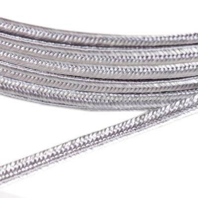 PEGA soutache snor sølv 3 / 0,9 mm