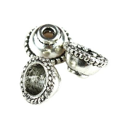 metal caps beads
