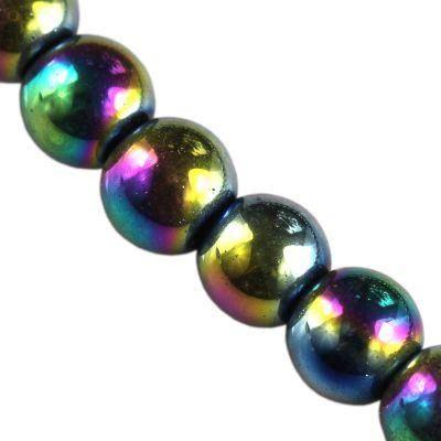 koraliki Bubble AB tęczowe 8 mm