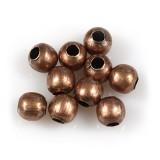 petites boules décoratives 4 mm antiques