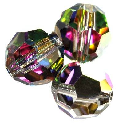 Swarovski round beads crystal vitrail medium 8 mm