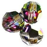 Swarovski round beads crystal vitrail medium 8 mm