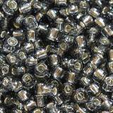 Toho seed beads round silver-lined gray 2.2 mm TR-11-29B