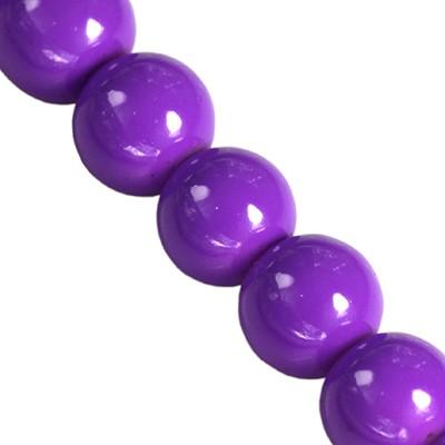 szklane koraliki Panacolor™ ultra violete 10 mm