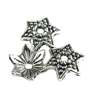 suportes metálicos estrelas 9 mm
