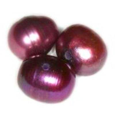 freshwater pearls 4-5 mm plum