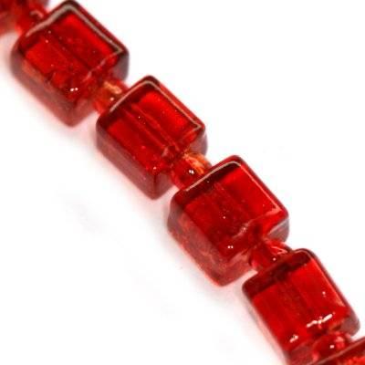 perles de crépitement cubes framboise 6 mm