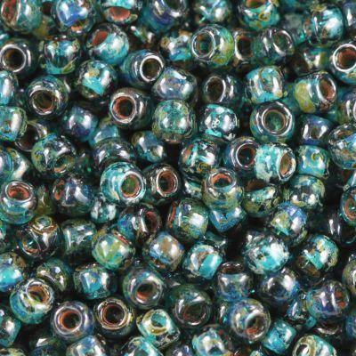 perles Toho round hybrid transparent capri blue - pica 2.2 mm TR-11-Y322
