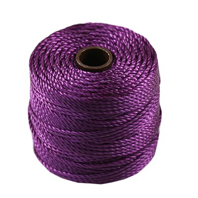 nici S-LON Macrame Tex 400 0.9 mm plum - nić do makramy