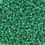 Miyuki Delica beads 11/0 opaque dyed green DB0656