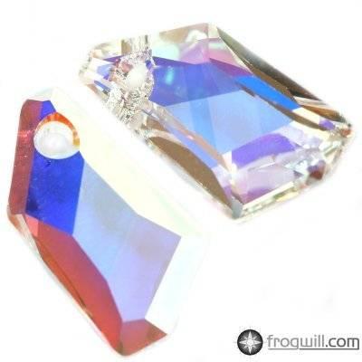 Swarovski de-art pendants crystal ab 18 mm