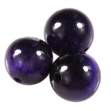 round purple tiger eye 4 mm