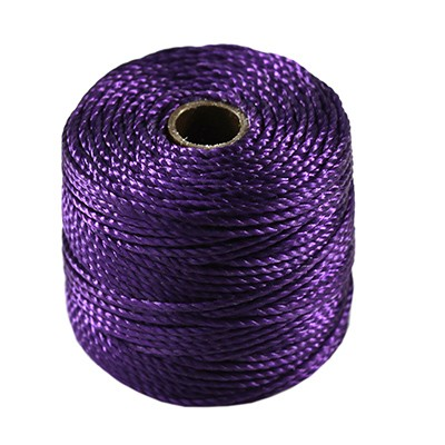 nici S-LON Macrame Tex 400 0.9 mm purple - nić do makramy
