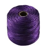 S-lon heavy macrame cord tex 400 purple