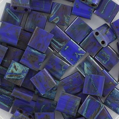 Miyuki tila opaque cobalt picasso 5 mm