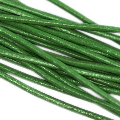 leather wire olivew1.5 mm