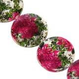 mother of pearl coin peonies 25 mm