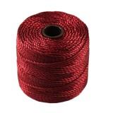 S-lon heavy macrame cord tex 400 red hot