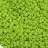 Miyuki round beads opaque chartreuse 11/0 #11-416