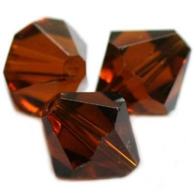 kryształki diamentowe brązowe 12 mm