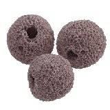 lawa wulkaniczna ametystowy 10 mm kamień naturalny barwiony