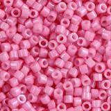 korálky Miyuki Delica opaque dyed carnation pink 1.6 x 1.3 mm DB-1371