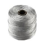 S-lon heavy macrame cord tex 400 silver