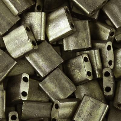 koraliki Miyuki tila metallic matte dark bronze 5 mm #TL-2006