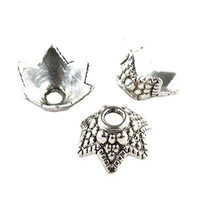 chapas de metal tulipanes 10 mm