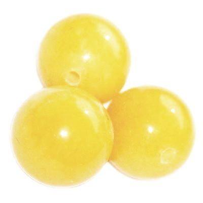 Pietra nefrite all'ambra 8 mm / Pitere dure
