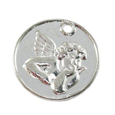 cherub pendant 21.8 x 21.8 mm jewellery findings