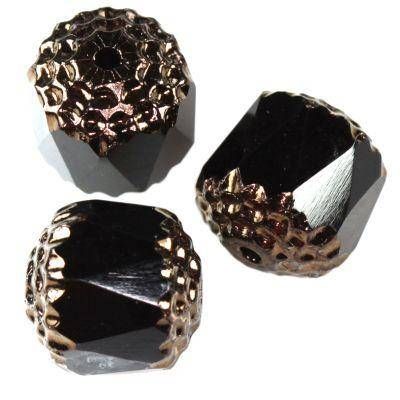 bols beads black 10 mm