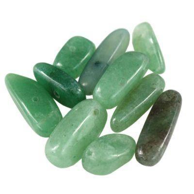 awenturyn zęby zielony 10-20 mm kamień naturalny barwiony