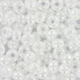 Miyuki round beads ceylon white pearl 6/0 #6-528