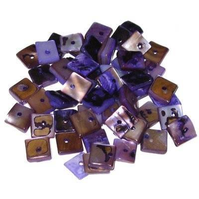 masa perłowa kwadraty fioletowe 1 cm