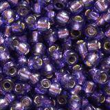 perles Toho round silver-lined purple 2.2 mm TR-11-2224