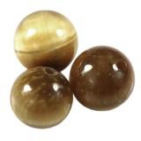 złote tygrysie oko 8 mm kamień półszlachetny naturalny barwiony